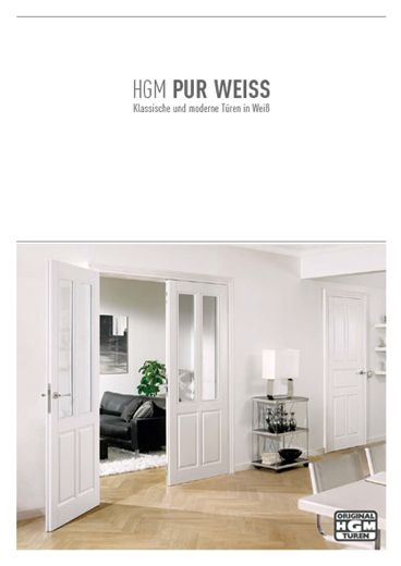 HGM Katalog Pur Weiss